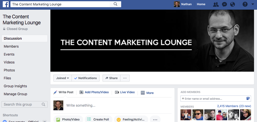 The Content Marketing Lounge